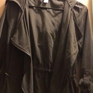 Army green utility jacket!
